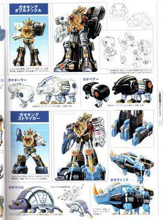 Super Sentai Art Collection These are my newer scans of the book and not the Thai-Toku scans. Power Rangers Wild Force, Go Go Power Rangers, Kamen Rider, Zoids, Power Rangers Megazord, Pawer Rangers, Alternative Comics, Fox Kids, Green Ranger