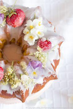 Floral Bundt Cake