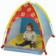 Features:  -Waterproof floor.  -Flame retardant fabric meets CPAI-84 standards.  -Sturdy poles allow for durability and safety.  -Bright multi-colored design.  Color: -Multi-Color.  Primary Material: