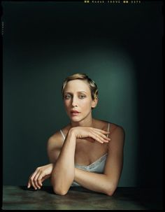 Vera Farmiga by Dan Winters. I love this. I love how raw and stripped down it is—plus, that lighting is stunning.