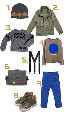 boy stuff for fall / petit à petit and family  For Louis