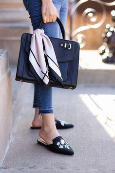 silk scarf around purse   fashion   fashion blog   fashion blogger   outfit ideas   style   what to wear