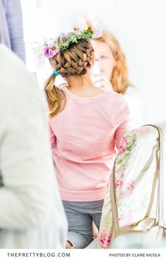 A floral workshop: after seeing this birthday party you'll also want to turn your little one's party into something fantastical, fun and interactive.