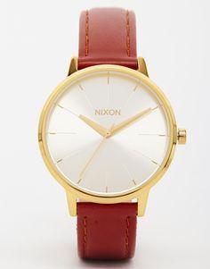 Image 1 - Nixon - Kensington - Montre avec bracelet en cuir - Marron
