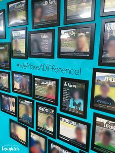 Building a Classroom Community with a Student Photo Wall - Lessons With Laughter