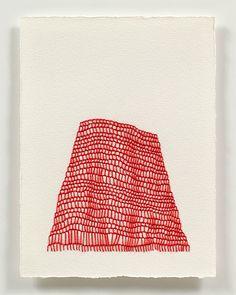 Emily Barletta, thread drawing