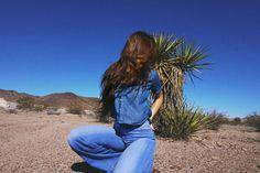 MONICAMIYAGI | dirty blues | Denim | Levis | Desert | Fashion | Style