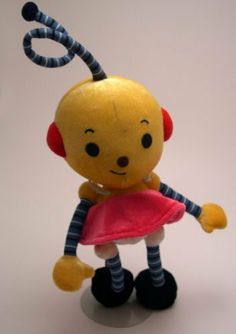 """9"""" Rolie Polie Olie Zowie Doll by Disney. $49.99. Zowie is ready to play with you! 9"""" tall and just the right size to hold and hug! Soft and cuddly."""
