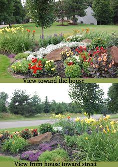 New Post rustic garden decorations visit Bobayule Trending Decors Zinnias, Dahlias, Peonies, Shasta Daisies, Garden Landscaping, Landscaping Ideas, Outdoor Flowers, Evening Primrose, Black Eyed Susan