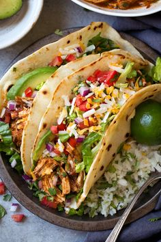 These Salsa Chicken Tacos are one of the easiest dinners you can make and yet they are still perfectly flavorful and everyone will love them! Likely to become a new go-to weeknight dinner for you!