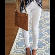 White skinny jeans Never been worn white skinny jeans Blue Asphalt Pants Skinny