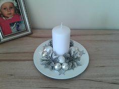 Vánoční svícen Candle Holders, Candles, Porta Velas, Candy, Candle Sticks, Candlesticks, Candle, Candle Stand