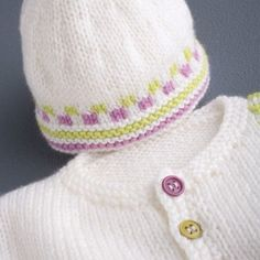 Knitted Hats, Crochet Hats, Winter Hats, Couture, Wool, Pattern, Baby Jackets, Bonnets, Knitting Ideas