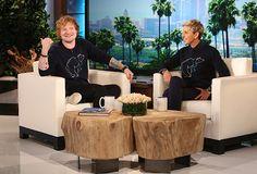 """Ed Sheeran on """"The Ellen DeGeneres Show"""""""
