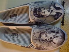 Hollywood Starlets Custom Made Shoes