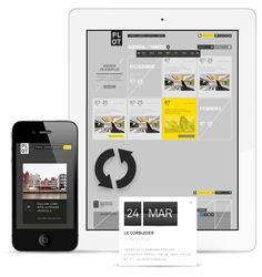 Digital / PLOT Architecture culture magazine portal on Behance — Designspiration