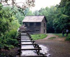 Mingus Mill, Cherokee, Swain Co., NC.