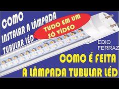 Dicas do Gilson Eletricista: Como instalar uma lâmpada Tubo Led ?