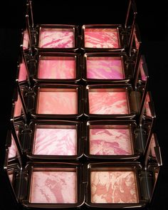 Explore our Ambient Lighting Blush Collection featuring 10 multidimensional shades of vivid cheek color. Shop our #AmbientLighting Blush and #AmbientStrobe Blush with the link in profile. #CreateYourPerfectLight #crueltyfree #hourglasscosmetics