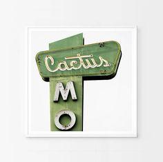 Cactus Motel California Print Fine Art Photography Abstract