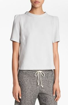 ASTR Button Back Boxy Top available at #Nordstrom