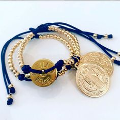 Bracelets By Vila Veloni Saint Benedict Coin