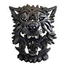 Image result for wolf sculpture