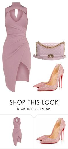"""Untitled #381"" by gabi-gabi1 ❤ liked on Polyvore featuring Christian Louboutin and Chanel"