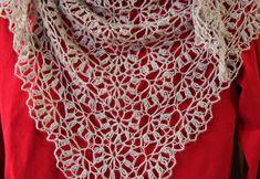 Ravelry: Porcelain Berry Shawl pattern by Elena Fedotova
