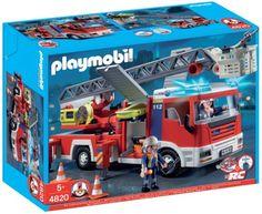 Playmobil - 4820 - Jeu de construction - Camion de pompiers grande échelle Playmobil http://www.amazon.fr/dp/B0021ZQP2E/ref=cm_sw_r_pi_dp_ITjBub10A8MSY