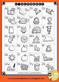 I'm in a sharing mood! FREE B&W Alphabet Charts - English and French versions Alphabet Charts, Alphabet Worksheets, Alphabet Activities, Kindergarten Worksheets, Kindergarten Classroom, Alphabet Sounds, Alphabet For Kids, French Kids, Free In French