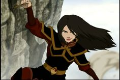 If a character has long hair tied in a ponytail there is a chance that the hair will become undone during a fight or action scene. Description from allthetropes.wikia.com. I searched for this on bing.com/images