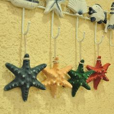 The Mediterranean-style three-dimensional simulation of cute resin color shells and starfish Creative Home Decorations - eBoxTao, English TaoBao Agent, Purchase Agent. покупка агент