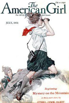 American Girl, July 1931