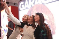 Karlie Kloss, Dasha Zhukova, Wendy Murdoch at GARAGE MAGAZINE: ISSUE NO 10 RELEASE PARTY selfie