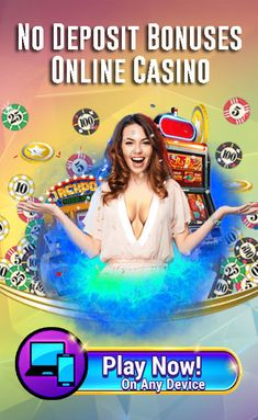 Best Online Casino list with No Deposit Bonus. Latest Bonuses Free Spins or Free chips up to $100 without depositing. A no deposit bonus is a free bonus which you can use to play and win in real money games. Latest no deposit casino bonus codes for existing players, including at the USA online casino. You can try out the video slots at these casinos with the free bonus. There are mainly two types of no deposit offers available: Free Spins or Free chips from sing-up for new players. Play Slots Online, Play Free Slots, Online Casino Slots, Online Casino Games, Online Gambling, Best Online Casino, Online Casino Bonus, Best Casino, Play Online