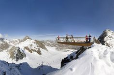 Top of Tyrol Platform, AustriaFrom the side, this observation deck atop Stubai Glacier in Tyrol, Austria, looks like a perilous high-dive platform at an altitude of 10,500 feet. That is, when it's not buried in snow. To access the cantilevered spot about an hour outside of Innsbruck, visitors (sometimes in ski boots and helmets) take the Stubaier Gletscher ski resort's Schaufeljoch cable car to the top station, then climb a staircase that follows a ridge to the suspended, steel-grate…