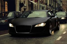 Who can forget the black... audi