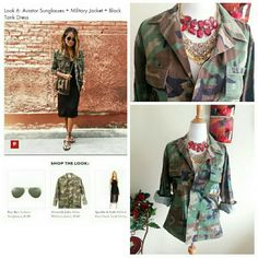 Camoflauge Military Jacket Shirt This authentic camo jacket/shirt is on the 2016 whattowear.coms trend list. Had it in moms closet and exploded when i saw one like it on the site:) Hers was nicer too and more feminine. Can also be paired with ripped jeans and a tank. Perfect condition with no flaws and worn once. Slight distressing on covered buttons but it was purchased new like that. Excellent item for a stylish diva. True to size. Make me an offer. Sales for $80 plus online. Vintage…