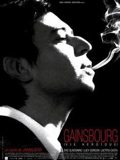 Gainsbourg (Vie héroïque) : Affiche Joann Sfar