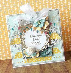 {I love you like crazy} card *Glitz Design*