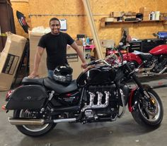 Thanks to Nicholas Davis from Newton MS for getting a 2014 Triumph Rocket III at Hattiesburg Cycles