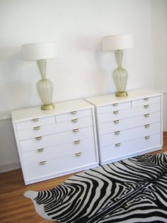 mid century modern dressers