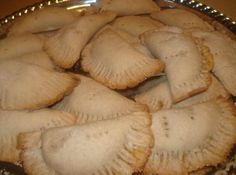 As a child I can rememeber my grandmother making these little pumpkin empanadas. They were so delicious. We would have them for dessert or for breakfast. Craving them; I bought a large beautiful pumpkin and had my husband cut it in half then he cleaned out the seeds and membranes. He then cut the halves in half. I put them face down on cookie sheets and baked for 1 hour and 20 minutes on 350 degrees. After I pulled them out I let them cool completely and then pulled off the peel which came…