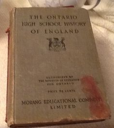 Antique 1911 hard-cover copy of The Ontario High by BuyfromGroovy