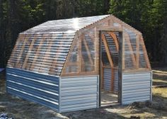 Build a Barn Greenhouse | Free and Easy DIY Project and Furniture Plans by nycnicegirl