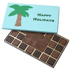 #Holiday Palm Tree Chocolate - #Chocolates #Treats #chocolate