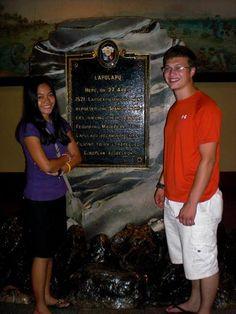 Yea we got into Lapu-Lapu's monument.  2012