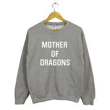 GAME OF THRONES MOTHER OF DRAGONS SWEATER JUMPER JOHN SNOW KING NEW GIFT