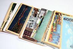 Save the Date Idea-Vintage San Francisco Themed Postcards